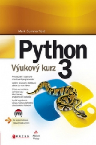 Kniha Python 3 Mark Summerfield
