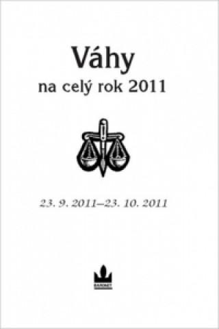 Carte Horoskopy na celý rok 2011 Váhy collegium