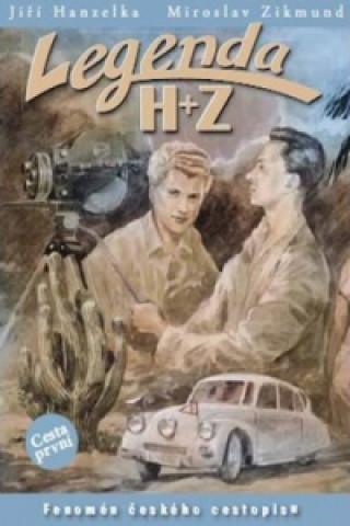 Carte Legenda H+Z První cesta Jiří Hanzelka