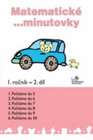 Carte Matematické minutovky 1. ročník / 2. díl Josef Molnár