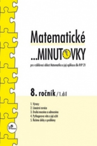 Carte Matematické minutovky 8. ročník / 1. díl Miroslav Hricz