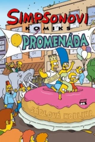 Simpsonovi komiks promenáda