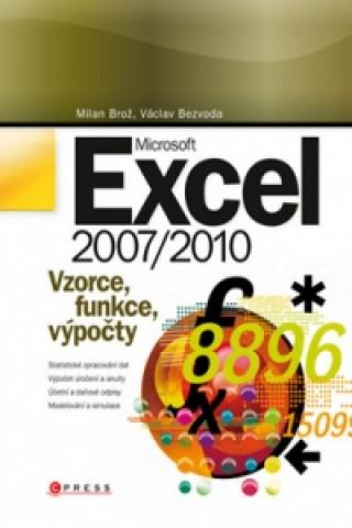 Carte Microsoft Excel 2007/2010 Milan Brož