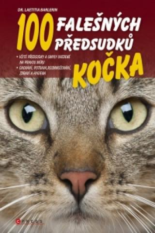 Carte Kočka 100 falešných předsudků Laetitia Barlerin