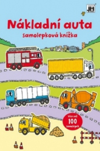 Samolepková knížka Nákladní auta