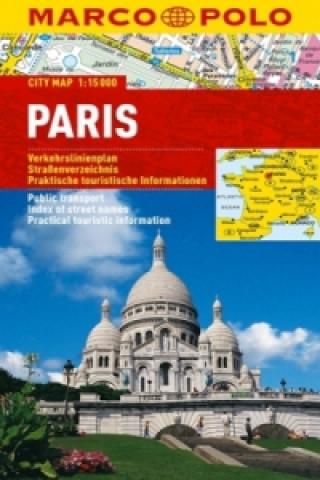 Paříž - lamino MD 1:15 000