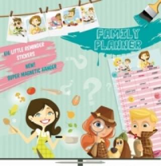 Plánovací Girls & Boys Family Planner - nástěnný kalendář