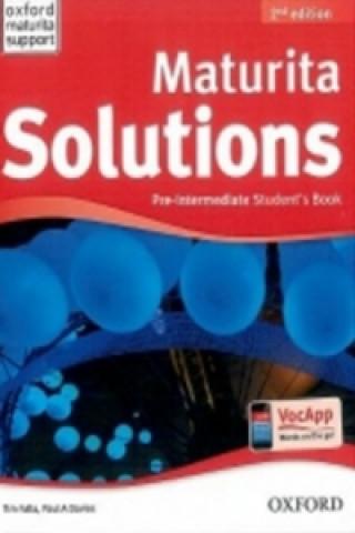Maturita Solutions Pre-Intermediate Student's Book Czech Edition