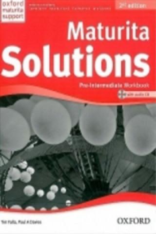 Maturita Solutions Pre-Intermediate  Workbook with Audio CD PACK Czech Edition