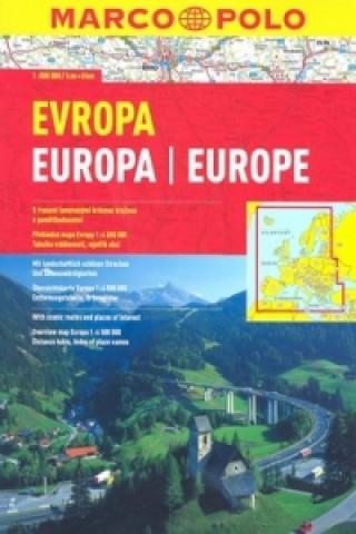 Materiale tipărite Evropa 1:800 000