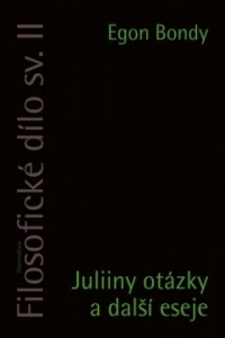Juliiny otázky a další eseje