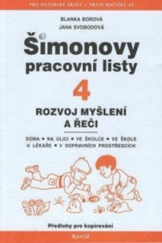 Carte Šimonovy pracovní listy 4 Blanka Borová