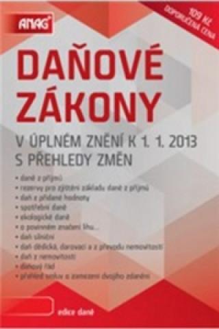 Daňové zákony v úplném znění k 1. 1. 2013 s přehledy změn