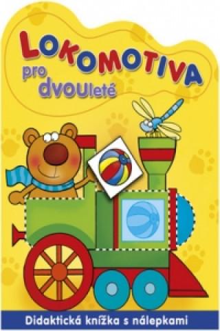 Carte Lokomotiva pro dvouleté Renata Wiacek