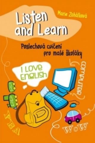 Ottovo nakladatelství Listen and Learn Poslechová cvičení pro malé školáky + 2 CD