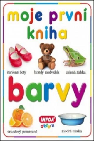 Moje první kniha Barvy