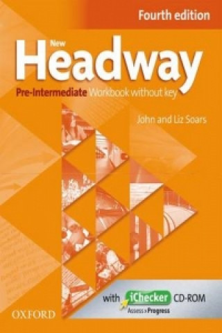 New Headway Pre-intermediate workbook without key + iChecker CD-ROM