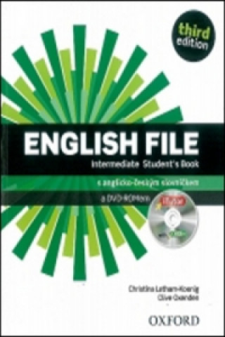 English File Intermediate Student's Book + iTutor DVD-ROM Czech Edition