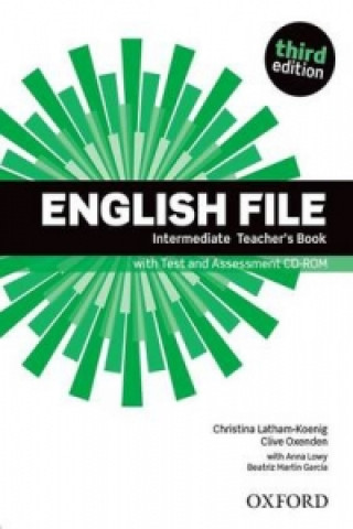 Könyv English File Intermediate Teacher's Book with Test and Assessment CD-ROM Clive Oxenden