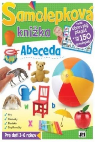 Samolepková knižka Abeceda