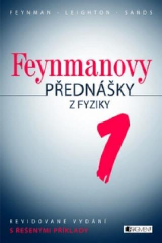 Kniha Feynmanovy přednášky z fyziky 1 R.P.Feynman