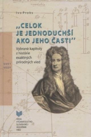 Kniha Celok je jednoduchší ako jeho časti Ivo Proks