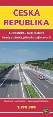 Automapa ČR 1:770 000