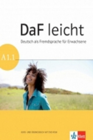 DaF leicht A1.1 Kurs/Arbeitsbuch + DVD-Rom