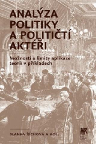 Analýza politiky a političtí aktéři