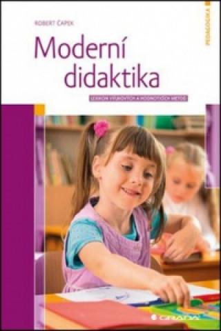 Kniha Moderní didaktika Robert Čapek