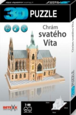 3D puzzle Chrám sv. Víta