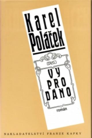 Carte Vyprodáno Karel Poláček
