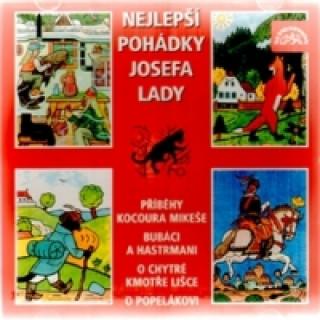 Audio Nejlepší pohádky Josefa Lady Josef Lada