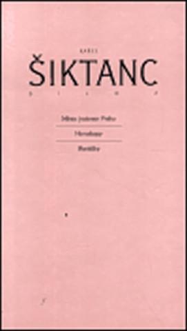 Carte Dílo 2 Karel Šiktanc