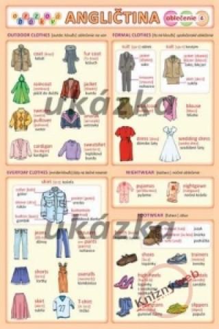 Obrázková angličtina 4 - oblečenie