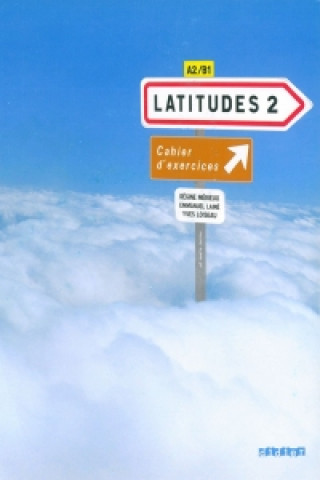 Carte Latitudes 2 Pracovní sešit Régine Mérieux