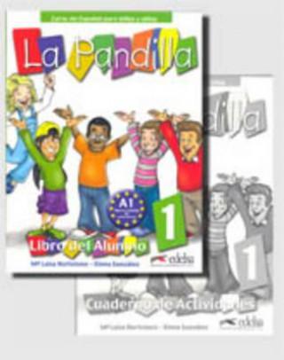 Kniha La Pandilla 1 Učebnice + pracovní sešit HORTELANO