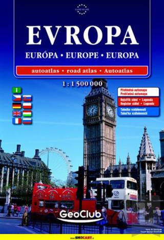 Evropa autoatlas