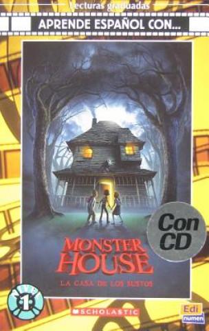 Aprende espanol con ... Nivel 1 (A1) La casa de los sustos - Libro + CD