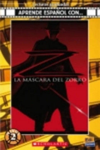 Mascara del Zorro Book + CD