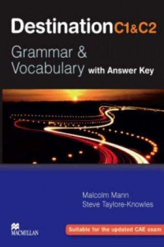Carte Destination C1&C2 Upper Intermediate Student Book +key Malcolm Mann