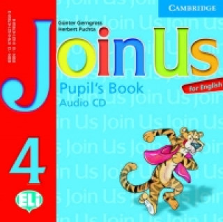 Cambridge University Press Join Us for English 4 Pupil's Book Audio CD