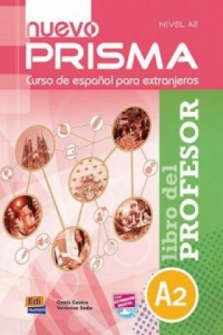 Carte Prisma A2 Nuevo Libro del profesor + CD Genis Castro Niubó