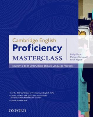 Carte Proficiency Masterclass Third Edition Student's Book with Online Skills Kathy Gude
