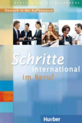 Schritte international im Beruf Deutsch in der Kaffeepause CD