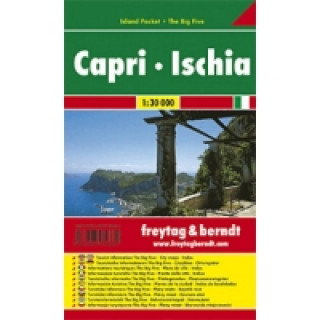 Automapa Capri - Ischie 1:30 000