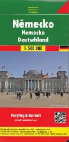 Materiale tipărite Automapa Německo 1:500 000