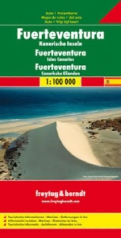 Automapa Fuerteventura 1:100 000