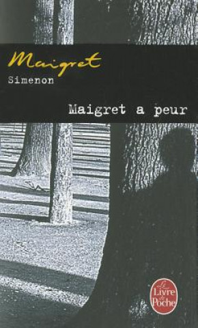 Carte Maigret a peur Georges Simenon
