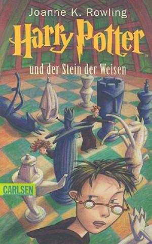 Kniha Harry Potter und der Stein der Weisen Joanne K. Rowling